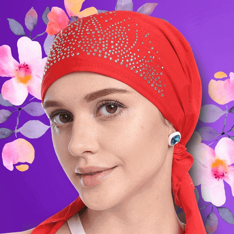 Dámske čiapky a šatky po chemoterapii