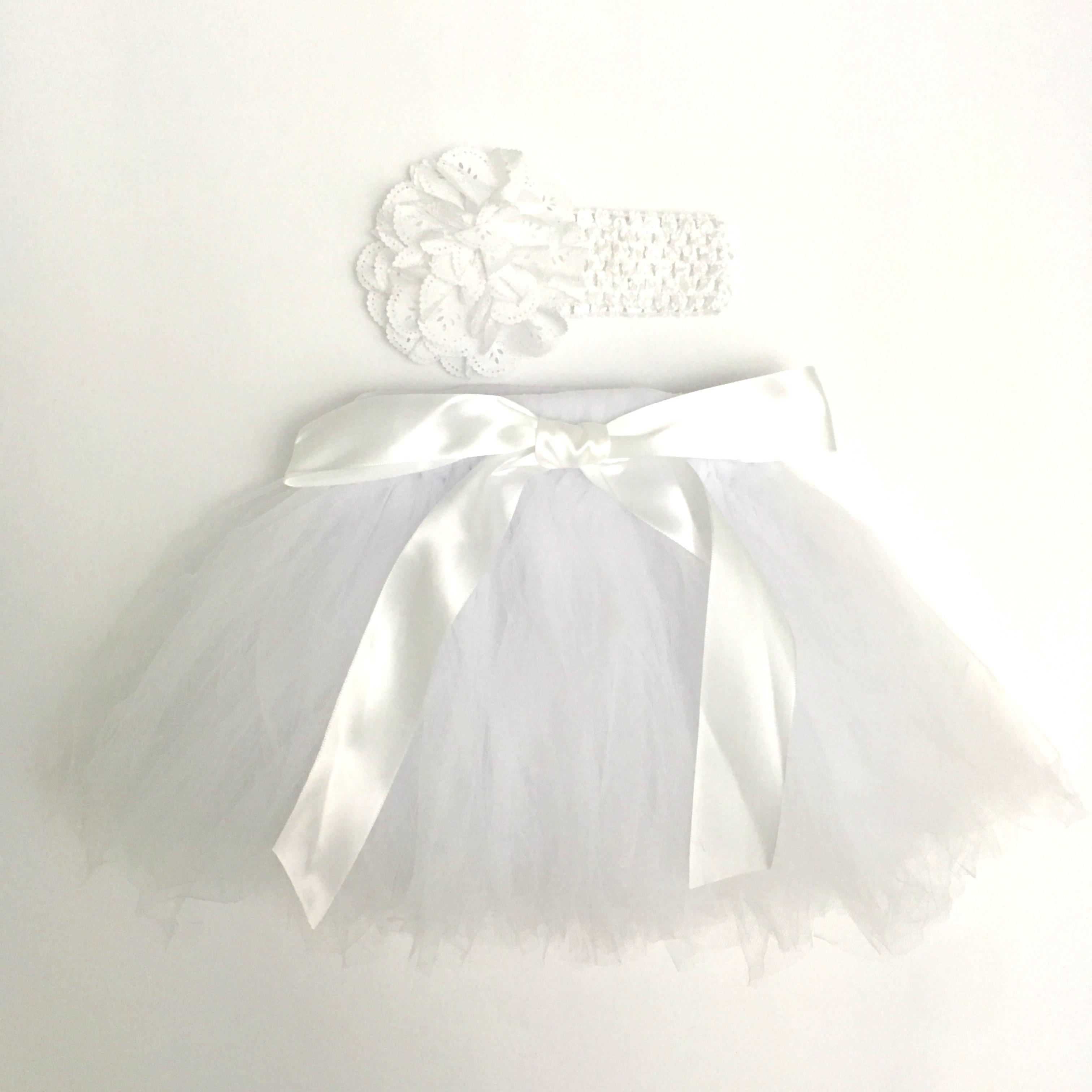 2569c8655e46 Tutu suknička pre bábätko biela (2-12 mesiacov) - jupitershop.sk