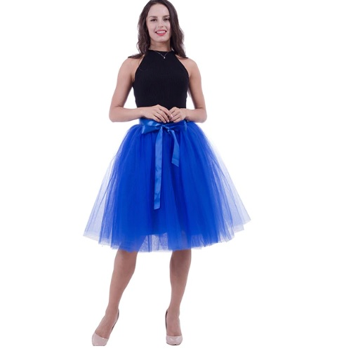 1b192d89e0e5 Dámska tylová tutu sukňa modrá - jupitershop.sk