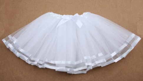 98d3b8dc0d3e Detská tylová tutu sukňa biela (3 roky) - jupitershop.sk