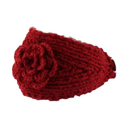 377cc901c70 Pletená čelenka na zimu červená - jupitershop.sk