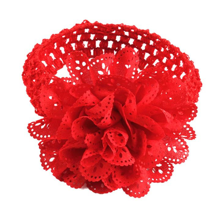 29a609f09498 Červená čelenka pre dievčatko kvet - jupitershop.sk