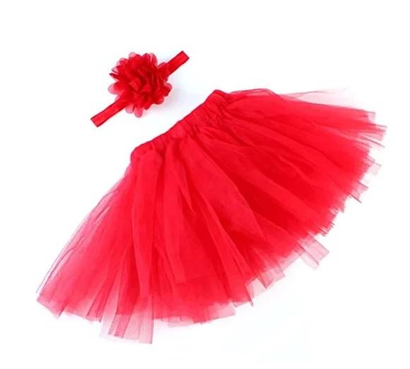 Tutu suknička pre bábätko červená - jupitershop.sk 736d69d63f