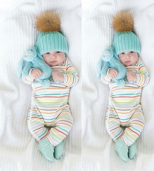 a900880f8 Detská čiapka s brmbolcom pre novorodenca modrá - jupitershop.sk