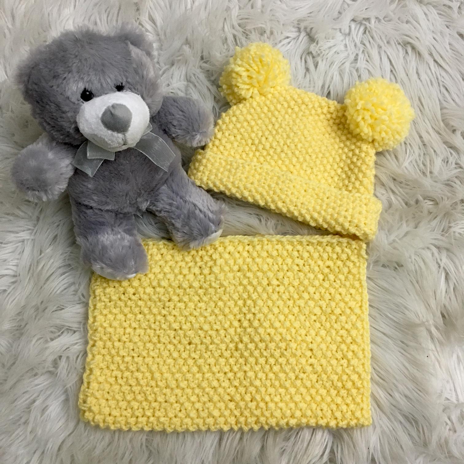 6a556e43b Pletená čiapka s nákrčníkom žltá (2-3 roky) - jupitershop.sk