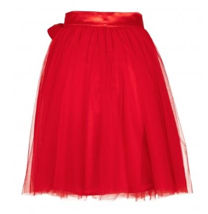 Dámska tylová tutu sukňa červená - jupitershop.sk 1f91145fff